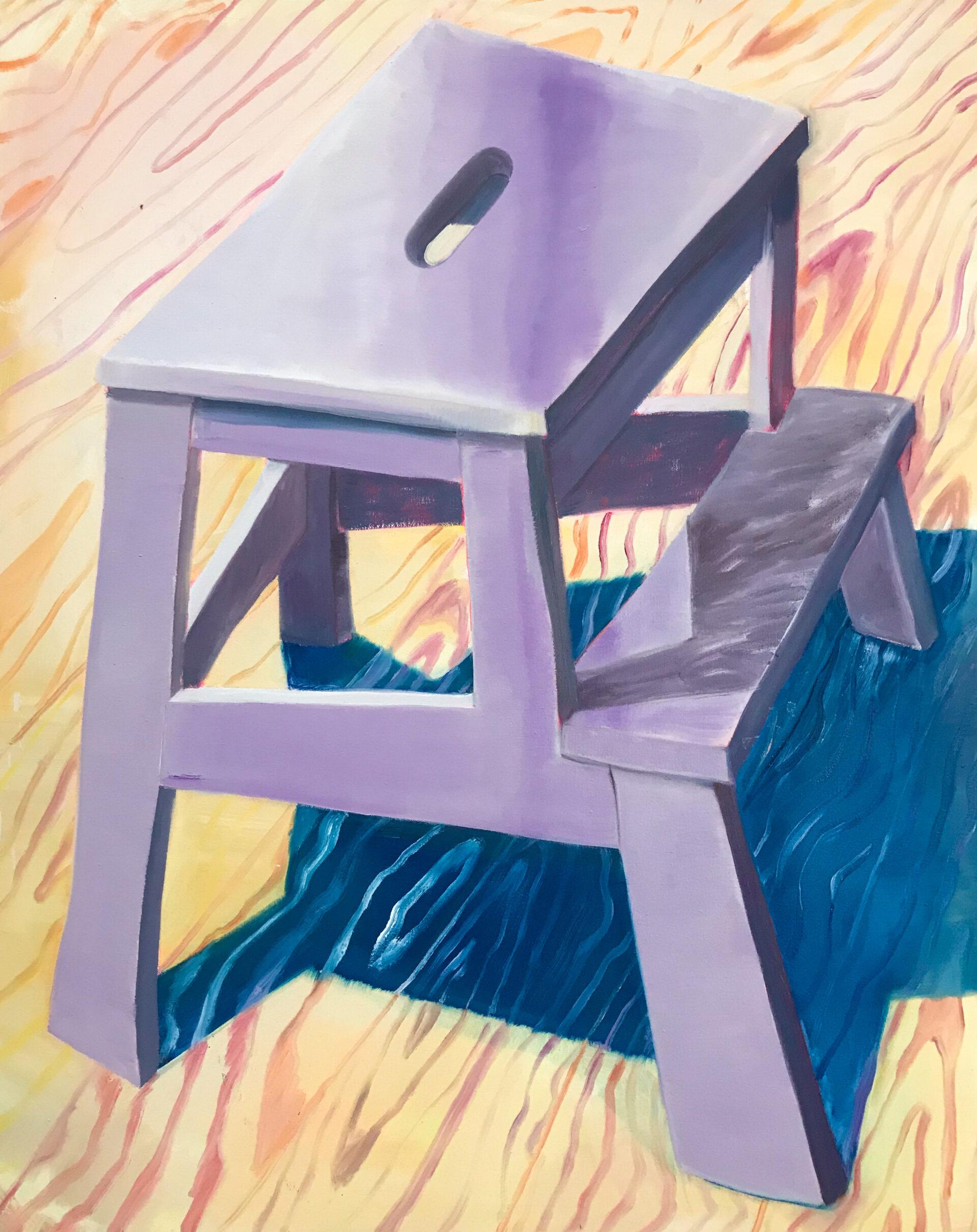 New Friends (Bergfuchs), 2020, oil on canvas, 100 x 80 cm Lisa Breyer